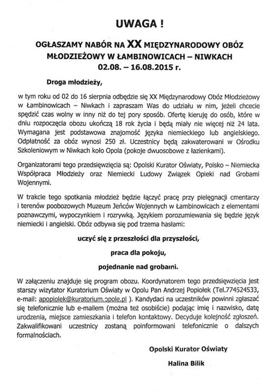 XX Międzynarodowy Obóz Młodzieżowy w Łambinowicach-Niwkach.jpeg