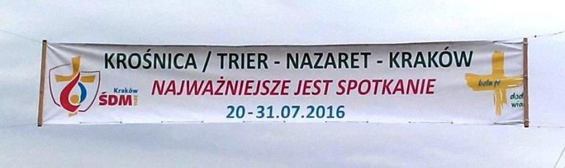 szyld Krośnica, Trier, Nazaret, Kraków.jpeg